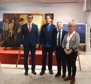 La exposición El bosque de las figuraciones de Adolfo Falces se expondrá hasta el 30 de abril en el Centro Riojano de Madrid
