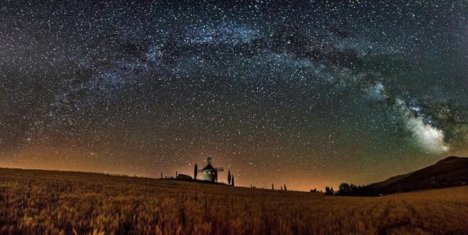 Noche de estrellas en Ocón