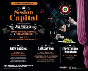 Agotadas las entradas para la primera Sesión Capital de 2015