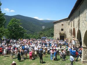 Romería de la Caridad Grande en la ermita de Lomos de Orios