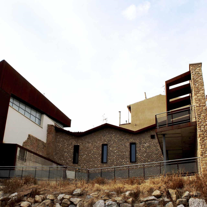 """Centro Interpretación de los Santos Mártires """"Casa Santa"""""""