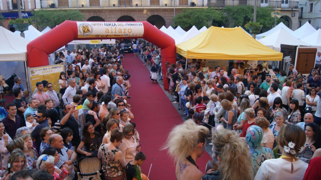 Fiestas de primavera en Alfaro
