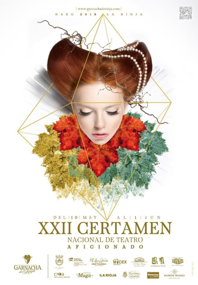 "XXII Certamen Nacional de Teatro ""Garnacha de Rioja"". Sección Grupos Aficionados."
