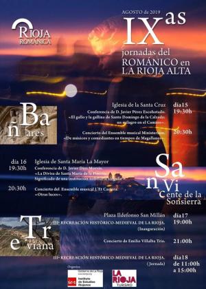 IX Jornadas del Románico en La Rioja Alta