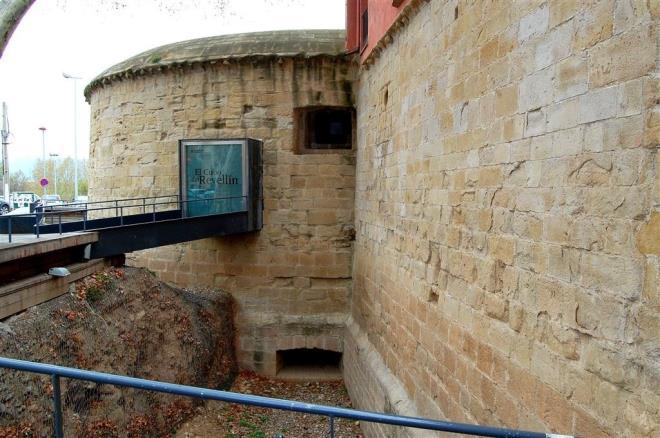 Visitas a la muralla de Logroño. El Cubo del Revellín