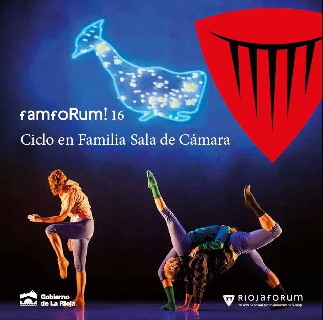 Riojaforum presenta dos novedosos ciclos de danza, uno para familias y otro de danza Contemporánea