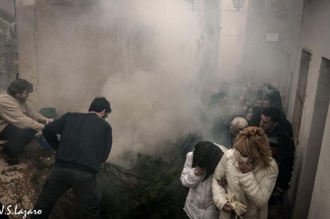 Prozession des Rauchs