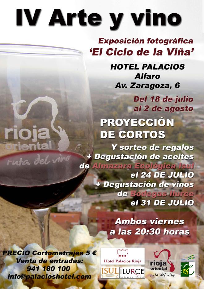 """Arte y vino. Exposición """"El ciclo de la viña"""""""