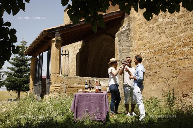 Románico y viñedos centenarios en territorio Tarón