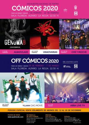 XXII Muestra Nacional de Teatro CÓMICOS 2020