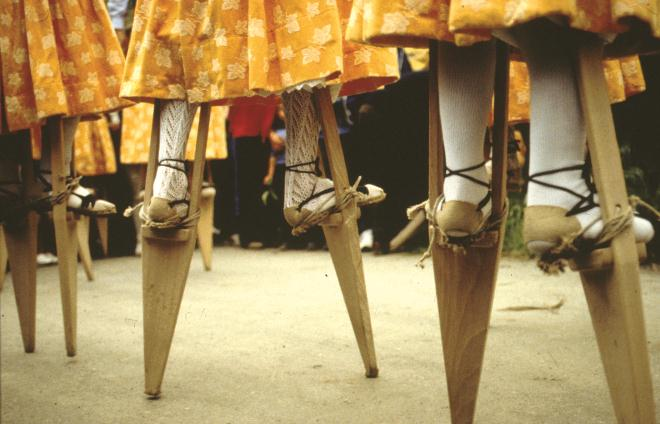 Stilt Dance, Anguiano