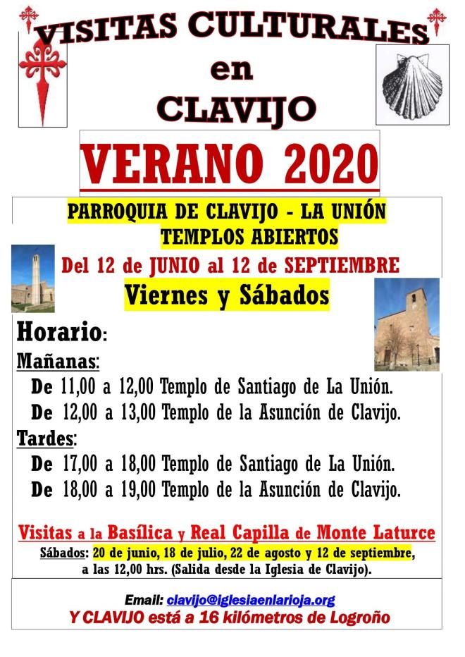 Visitas culturales en Clavijo