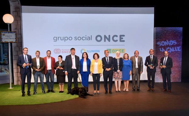 Los Premios Solidarios de la ONCE