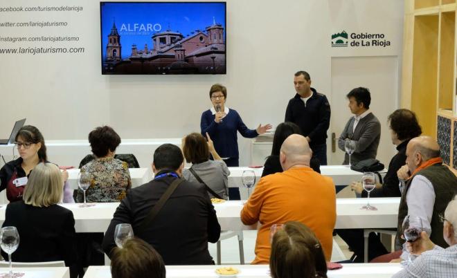 Los recursos de Alfaro, la logroñesa calle San Juan y el turismo de naturaleza, protagonistas de la última jornada de La Rioja en Fitur