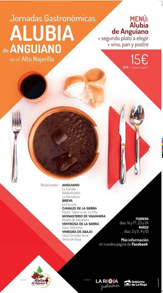 Jornadas Gastronómicas de la Alubia de Anguiano en el Alto Najerilla
