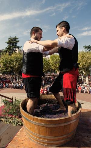 Fest des Heiligen Mateo und Riojanische Weinlese