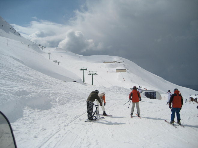 Estación de esquí de Valdezcaray (La Rioja)