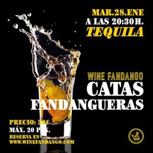 Cata fandanguera de tequila