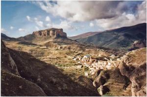 Restos del antiguo Castillo de Viguera