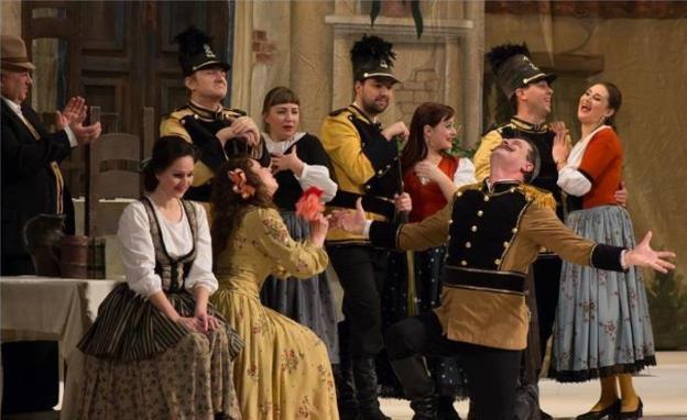 La ópera 'El elixir de amor' se representa el sábado en Riojafórum
