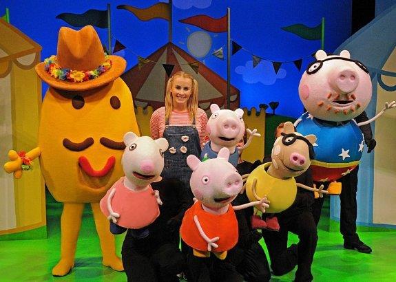 Peppa Pig abre su feria en Riojaforum