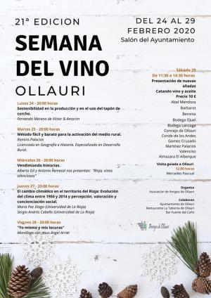 21ª Edición Semana Del Vino En Ollauri Agenda La Rioja Turismo