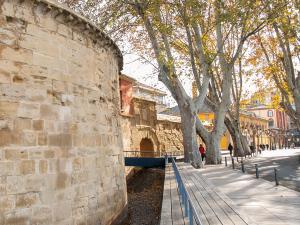 El muro de Revellín. Visitas guiadas a las Murallas de Logroño