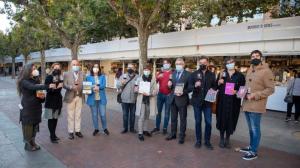 El Gobierno de La Rioja acude a la inauguración de la 40ª Feria del Libro antiguo y ocasión que se celebra en El Espolón hasta el 1 de noviembre
