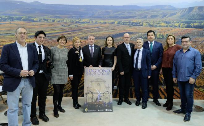 El tren del vino, la Semana Santa de Logroño y el cantante Jorge García, protagonistas del expositor La Rioja en Fitur 2019