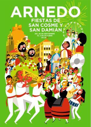 Fiestas de San Cosme y San Damián y robo de los santos