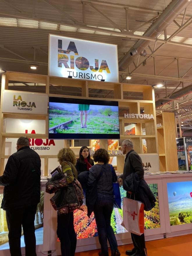La Rioja se promociona como destino en IBTM World de Barcelona y la Feria Internacional de Turismo de Interior de Valladolid