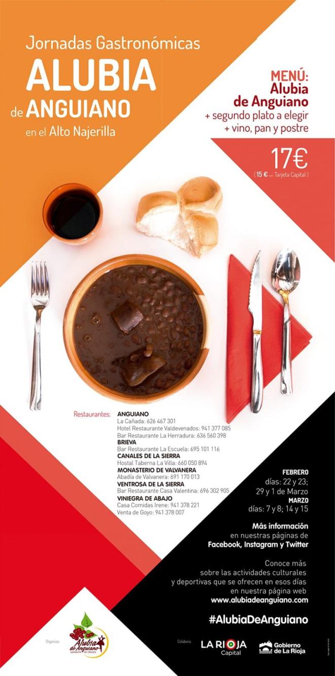 Jornadas Gastronómicas de la Alubia de Anguiano
