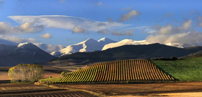 Entdecken Sie die Region Rioja in Panoramaaufnahmen