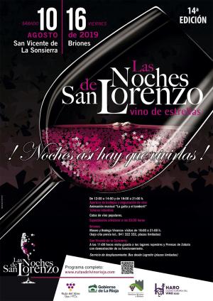 Noches de San Lorenzo en Briones