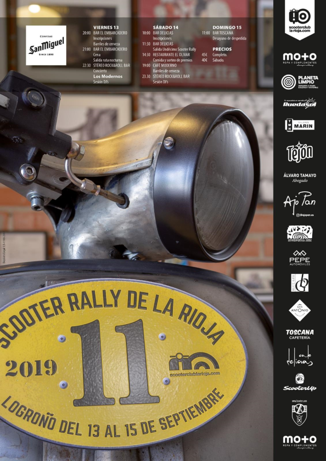 11 Rally Scooter Club de La Rioja