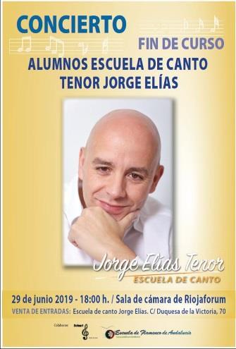 CONCIERTO DE LA ESCUELA DE CANTO JORGE ELÍAS TENOR
