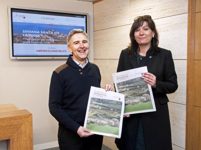 La Rioja Turismo presenta las actividades de primavera para divulgar la oferta de experiencias turísticas en La Rioja en esta época del año