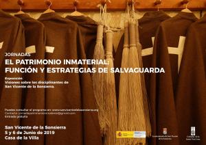 """Jornadas """"El patrimonio Inmaterial: función y estrategias de salvaguarda"""""""