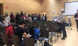 Éxito de convocatoria en el casting de figurantes en Riojafórum