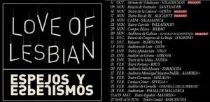 Love of Lesbian llegará a Riojaforum el próximo 14 de diciembre con su espectáculo 'Espejos y Espejismos'