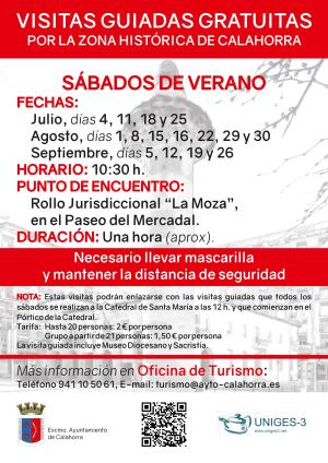 Visitas gratuitas por la zona histórica de Calahorra