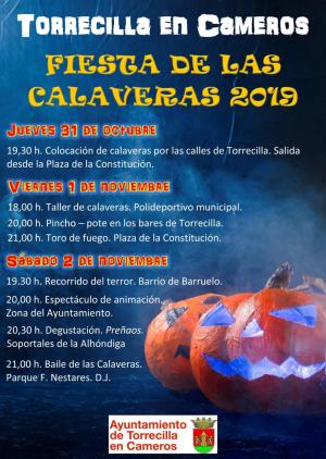 Fiestas de las calaveras 2019