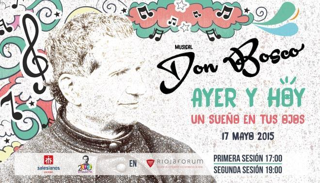 El musical Don Bosco, este domingo, en dos sesiones, en Riojaforum