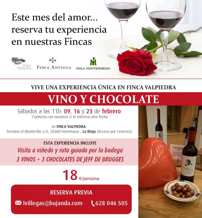 Vino y chocolate