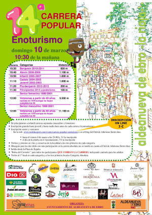 14ª Carrera Popular Enoturismo