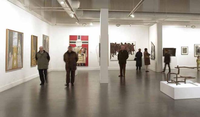 Exposición Isidoro Valcárcel va al cine