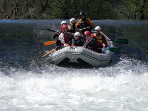 Rafting on the Iregua and Najerilla rivers.