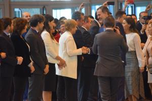 González Menorca participa en la apertura de Fitur  2019, donde La Rioja mostrará los rasgos que la convierten en un destino único