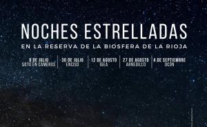 Noches estrelladas en la Reserva de la Biosfera de La Rioja