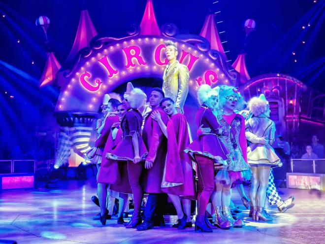 Riojafórum acoge el espectáculo 'Circlassica', un viaje al corazón del circo
